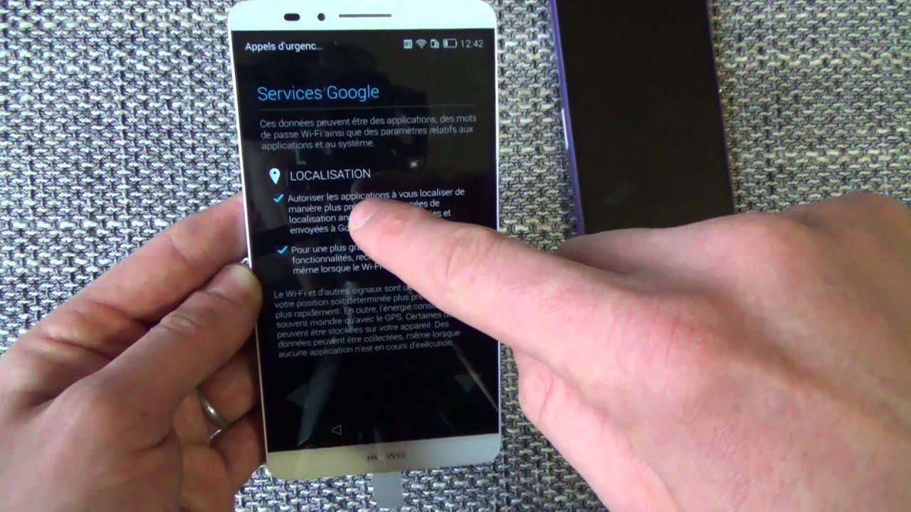 passe de votre Android